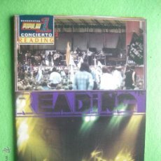 Revistas de música: POPULAR 1 CONCIERTO READING 1975 PERFECTO ESTADO.COMPLETO CON POSTER Nº2 PDELUXE. Lote 53477743