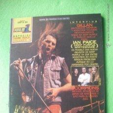 Revistas de música: POPULAR 1 ESPECIAL HARD ROCK VOL II PERFECTO ESTADO.COMPLETO.CON POSTER. PDELUXE. Lote 53477865