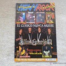 Revistas de música: HEAVY ROCK Nº 222. Lote 53496886