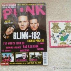 Revistas de música: ROCK SOUND ESPECIAL PUNK (INCLUYE CD). Lote 53496933