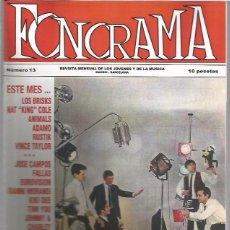 Revistas de música: FONORAMA 13. Lote 53631032