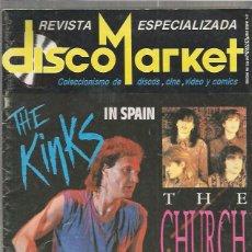 Revistas de música: DISCO MARKET 4 CON REGALO. Lote 53631355