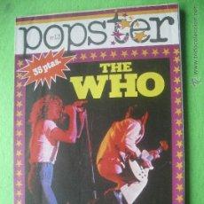 Revistas de música: IESA - POPSTER THE WHO THE WHO BIOGRAFIA Y DISCOGRAFIA1977 PERFECTO COMPLETO Nº13 IESA - PDELUXE. Lote 53667268