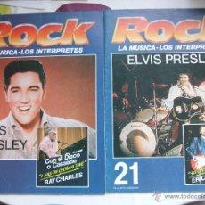 Revistas de música: ROCK LA MÚSICA - LOS INTERPRETES - ELVIS PRESLEY #20 Y#21 - PLATENA AGOSTINI. Lote 54026016