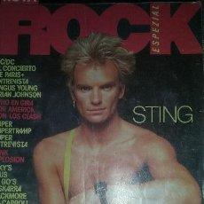 Revistas de música: REVISTA. ROCK ESPEZIAL. ENERO 1983. Lote 54214024