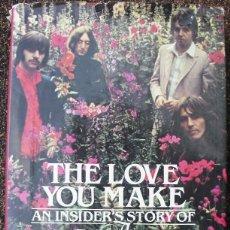 Revistas de música: LIBRO DE LOS BEATLES ''THE LOVE YOU MAKE'' (1983). Lote 74651955