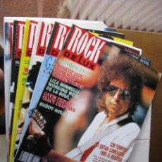 Revistas de música: LOTE DE ROCK DE LUX. 228 EJEMPLARES DEL 54 (7.1989) AL 284 (5.2010) (COMO NUEVOS). Lote 54450004