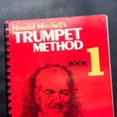 Revistas de música: TRUMPET METHOD - BOOK 1 - 1968 - EN INGLES. Lote 54498018