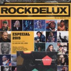 Revistas de música - ROCKDELUX N. 346 ENERO 2016 - INCLUYE CD (PRECINTADA) - 61087703