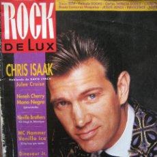 Revistas de música: ROCK DE LUX. Nº 74. ABRIL 1991. CHRIS ISAAK,NEVILLE BROTHERS,DEL TONOS,MANO NEGRA,.... Lote 54563743
