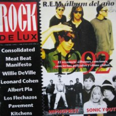 Revistas de música: ROCK DE LUX. Nº 93. ENE 93. R.E.M.,HIPHOPRISY,SONIC YOUTH,SUGAR,ARRESTED DEVELOPMENT,.... Lote 54564602