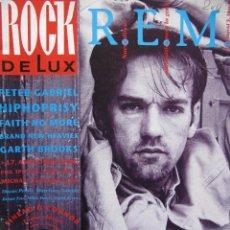 Revistas de música: ROCK DE LUX. Nº 90. OCT 92. R.E.M.,HIPHOPRISY,PETER GABRIEL,FAITH NO MORE,SINEAD O'CONNOR. Lote 54564654