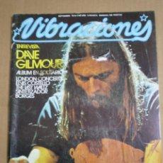 Revistas de música: REVISTA VIBRACIONES SEPTIEMBRE 1978. Lote 76821817