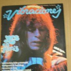 Revistas de música: REVISTA VIBRACIONES ENERO 1978. Lote 76821842