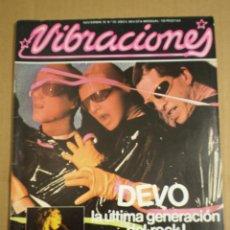 Revistas de música: REVISTA VIBRACIONES NOVIEMBRE 1978. Lote 54579126