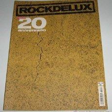 Revistas de música: ROCK DE LUX - ESPECIAL 20 ANIVERSARIO - LOS 100 MEJORES DISCOS ESPAÑOLES DEL SIGLO XX. Lote 54678888