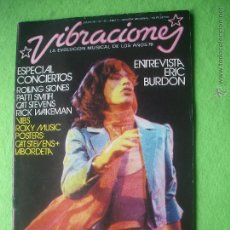 Revistas de música: VIBRACIONES MICK JAGGER EN PORTADA ESPECIAL CONCIERTOS 1976 PDELUXE. Lote 54681898