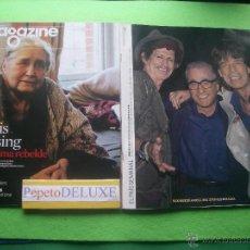 Revistas de música: EL PAIS + MAGAZINE ROLLING STONES EN PORTADA / INTERIOR STONES+SCORSESE 2008 PDELUXE. Lote 54690494