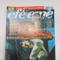 Revistas de música: REVISTA EFE EME Nº 67. ABRIL 2005. ANTONIO VEGA SE DESPIERTA. TDKR10. Lote 100062202