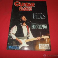 Revistas de música: REVISTA GUITAR PLAYER NUM 36 ERIC CLAPTON JOHN MAYALL DOSSIER BLUES BB KING. Lote 54934989