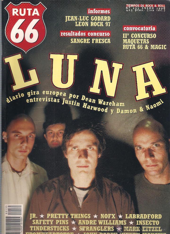 Revistas de música: Revista Ruta 66 - Año 1998 completo. 11 números (135 al 145) - Foto 2 - 54992364