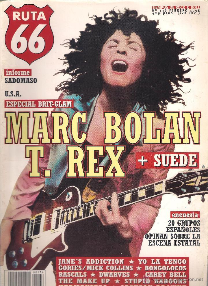 Revistas de música: Revista Ruta 66 - Año 1998 completo. 11 números (135 al 145) - Foto 3 - 54992364