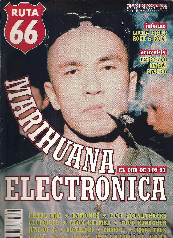 Revistas de música: Revista Ruta 66 - Año 1998 completo. 11 números (135 al 145) - Foto 4 - 54992364