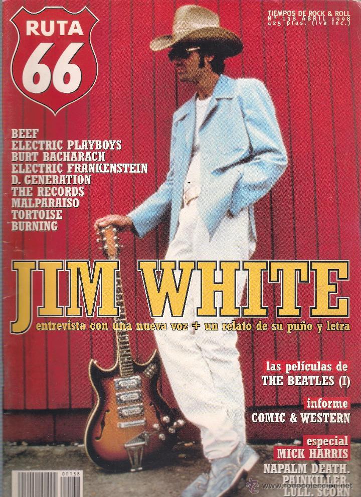 Revistas de música: Revista Ruta 66 - Año 1998 completo. 11 números (135 al 145) - Foto 5 - 54992364