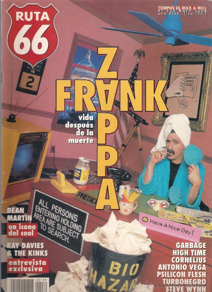 Revistas de música: Revista Ruta 66 - Año 1998 completo. 11 números (135 al 145) - Foto 6 - 54992364