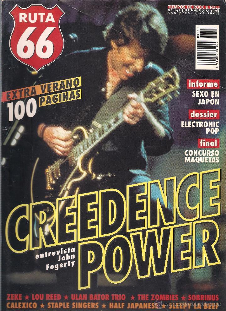 Revistas de música: Revista Ruta 66 - Año 1998 completo. 11 números (135 al 145) - Foto 8 - 54992364