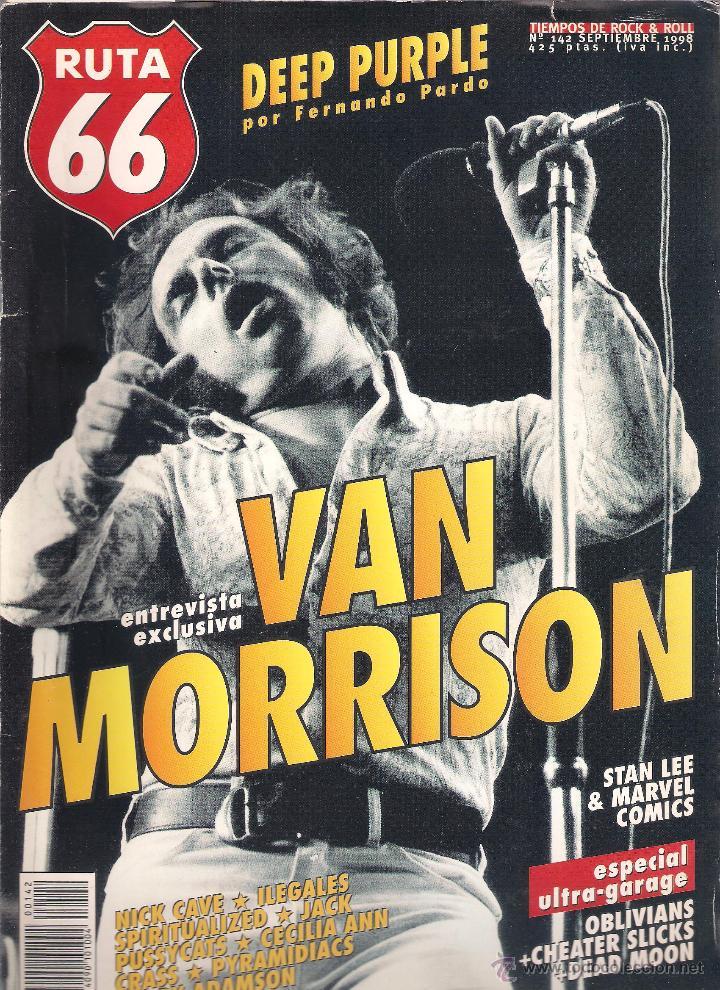 Revistas de música: Revista Ruta 66 - Año 1998 completo. 11 números (135 al 145) - Foto 9 - 54992364