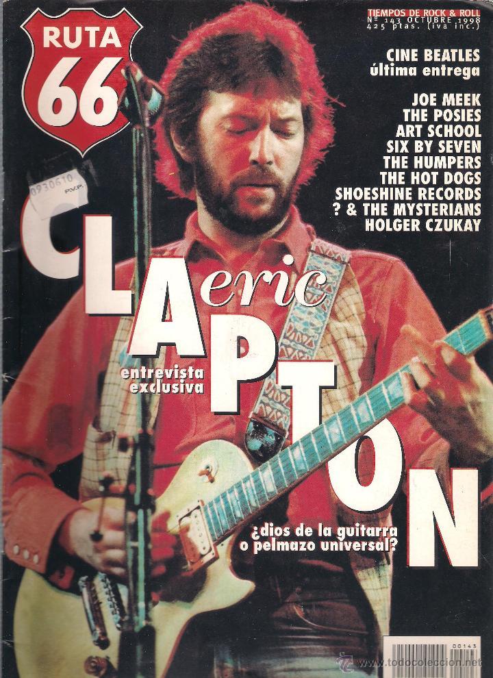 Revistas de música: Revista Ruta 66 - Año 1998 completo. 11 números (135 al 145) - Foto 10 - 54992364