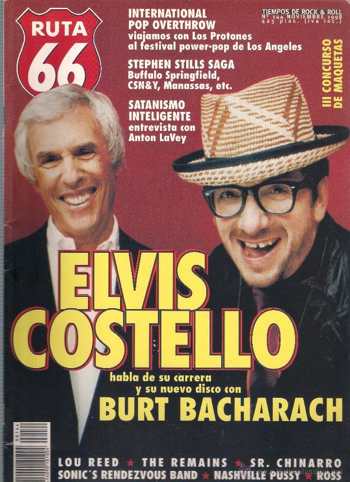 Revistas de música: Revista Ruta 66 - Año 1998 completo. 11 números (135 al 145) - Foto 11 - 54992364