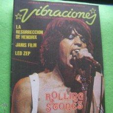 Revistas de música: VIBRACIONES MICK JAGGER EN PORTADA VIBS: ROLLING STONES . Nº 10 1975 PDELUXE. Lote 55783763