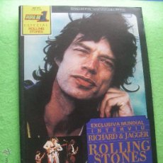 Revistas de música: POPULAR 1 MICK & STONES EN PORTADA ESPECIAL STONES. ESP A 29 1981 PDELUXE. Lote 55011635