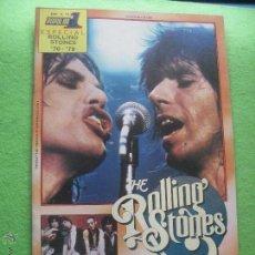 Revistas de música: POPULAR 1 ROLLING STONES EN PORTADA ESPECIAL STONES 70-79.- ESP A 16 1979 PDELUXE. Lote 135203165