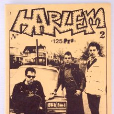 Revistas de música: FANZINE HARLEM NÚMERO 2 PUNK ROCK BILBAO DEVIL DOGS THE A-10 JANE'S ADDICTION. Lote 55016604