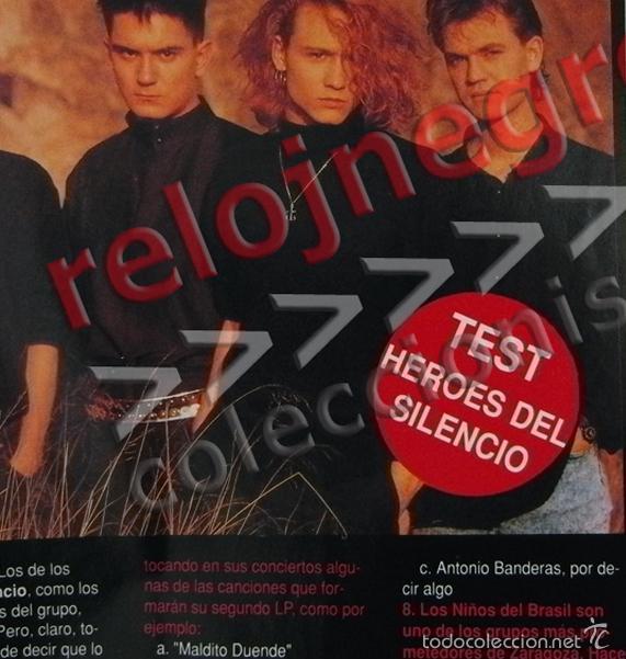 Revistas de música: REVISTA MAC 10 - AÑO 1990 - MÚSICA - CINE - TEST DE HÉROES DEL SILENCIO - GREMLINS 2 - BIG FUN - ETC - Foto 2 - 55117960