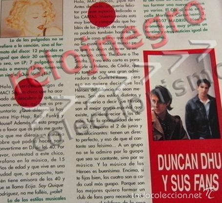 Revistas de música: REVISTA MAC 10 - AÑO 1990 - MÚSICA - CINE - TEST DE HÉROES DEL SILENCIO - GREMLINS 2 - BIG FUN - ETC - Foto 3 - 55117960