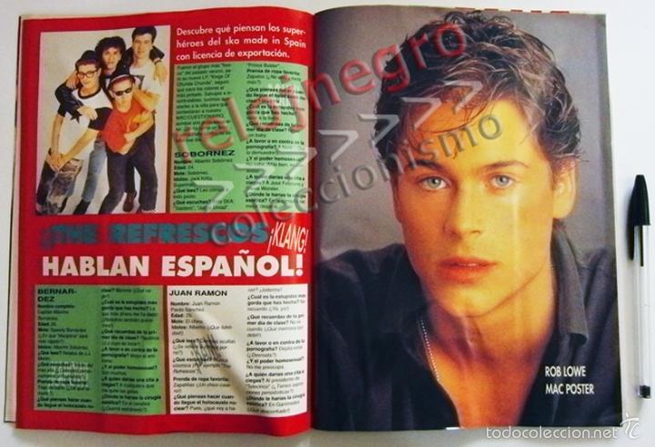 Revistas de música: REVISTA MAC 10 - AÑO 1990 - MÚSICA - CINE - TEST DE HÉROES DEL SILENCIO - GREMLINS 2 - BIG FUN - ETC - Foto 4 - 55117960