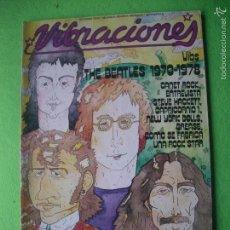 Revistas de música: VIBRACIONES BEATLES EN PORTADA Nº 49 - OCTUBRE 1978 PDELUXE. Lote 55243915