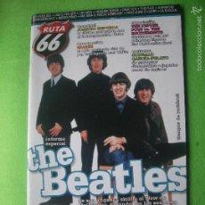 Revistas de música: RUTA 66 BEATLES EN PORTADA Nº 168.ENERO 2001 PDELUXE. Lote 55244191