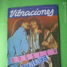 Revistas de música: VIBRACIONES ROLLING STONES EN PORTADA DOSSIER:CONJUNTOS.Nº 84. 1981 PDELUXE. Lote 55244305