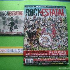 Magazines de musique: ROCK ESTATAL ROCK ESTATAL Nº 23 - X ANIVERSARIO. LAS 100 BANDAS MAS DESTACADAS 2012 PDELUXE. Lote 55244581