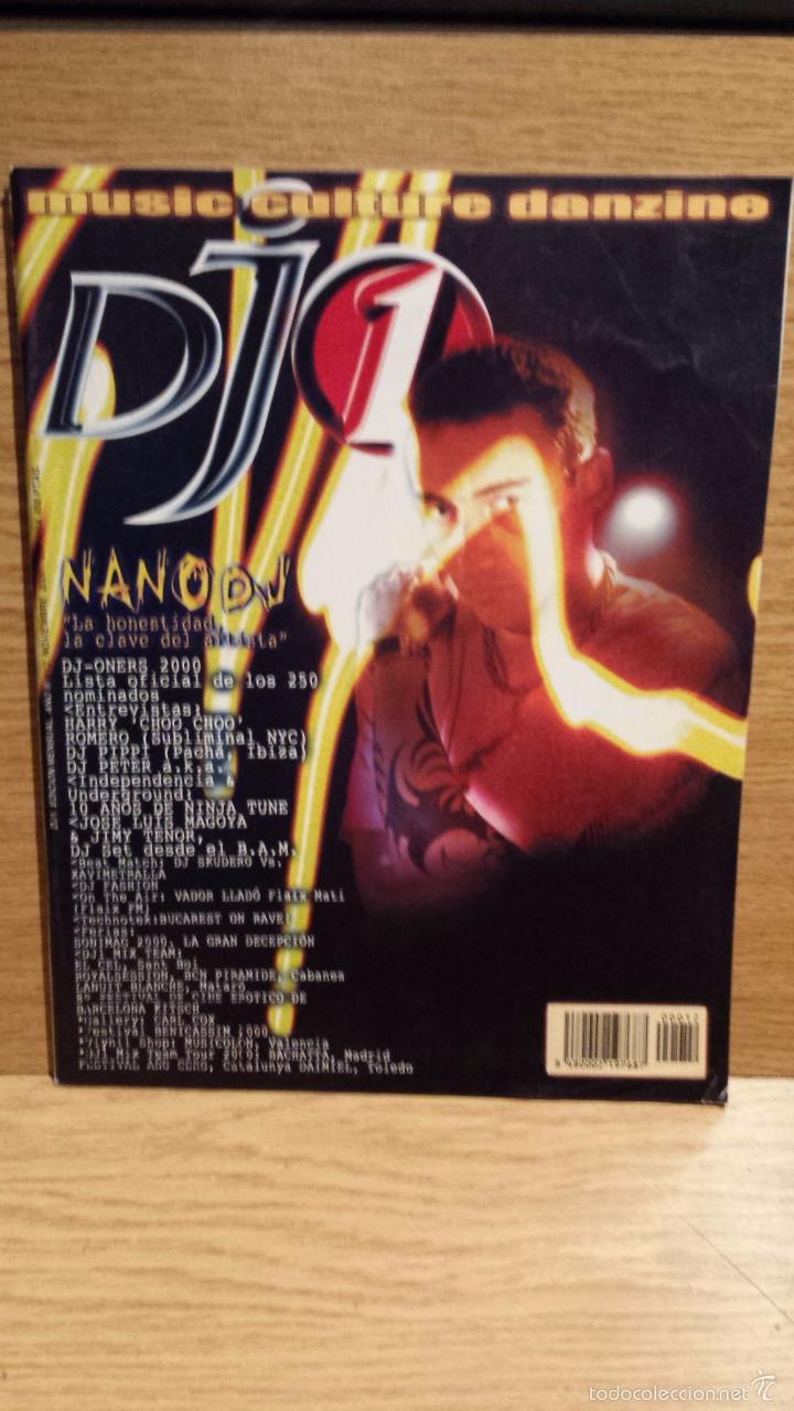 REVISTA DJ 1 / Nº 12 - FEB-2000 / NANO DJ - LA HONESTIDAD, LA CLAVE DEL ARTISTA - (Música - Revistas, Manuales y Cursos)