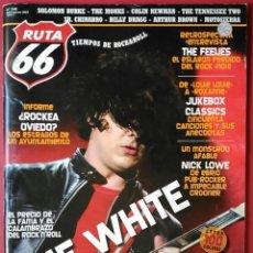 Revistas de música: RUTA 66 Nº 240 . 2007 . THE WHITE STRIPES . THE FEELIES . NICK LOWE . SR. CHINARRO . ¿ROCKEA OVIEDO?. Lote 55791132