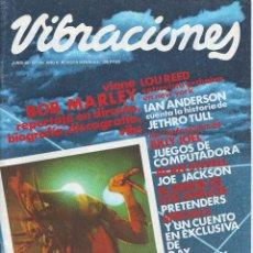 Revistas de música: REVISTA VIBRACIONES Nº 69 JUNIO 1980 BOB MARLEY PORTADA Y VIBS. Lote 55867636