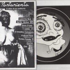 Revistas de música: LA PARTURIENTA (NUMERO 5) INCLUYE VINILO 7 PULGADAS. Lote 55869818