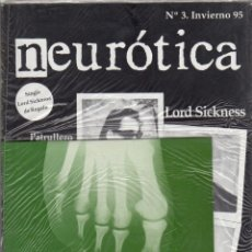 Revistas de música: NEUROTICA Nº 3 (INCLUYE SINGLE LORD SICKNESS). Lote 118825252