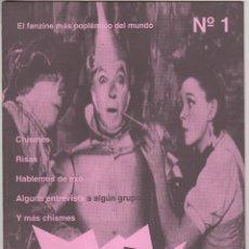 Revistas de música: POP MACHINE Nº1 FANZINE. Lote 55870149